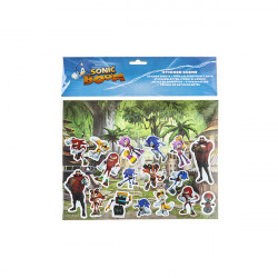 Sonic Boom Stickers Scene