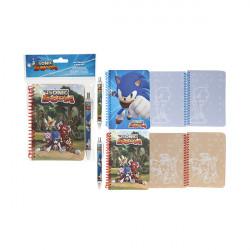 Sonic Boom - Set Taccuino...